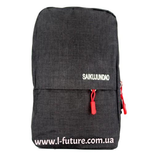 Мужская сумка через плечо Арт. 6117 Цвет Чёрный