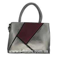 Женская Сумка Арт. F-8041 Цвет Серебро