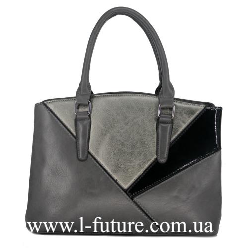 Женская Сумка Арт. F-8048 Цвет Серый