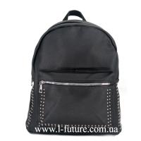 Женская Сумка-Рюкзак Арт. 918 Цвет Чёрный