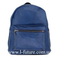 Женская Сумка-Рюкзак Арт. 918 Цвет Синий