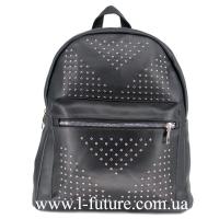 Женская Сумка-Рюкзак Арт. 918-1 Цвет Чёрный