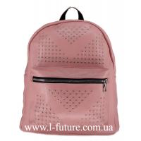 Женская Сумка-Рюкзак Арт. 918-1 Цвет Розовый