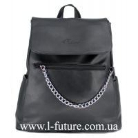 Женская Сумка-Рюкзак Арт. 920-1 Цвет Чёрный