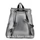 Женская Сумка-Рюкзак Арт. 917-1 Цвет Серебро