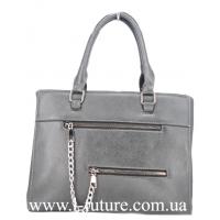 Женская Сумка Арт. F 8101 Цвет Серый