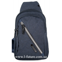 Мужская сумка через плечо Арт. 6293 Цвет Синий