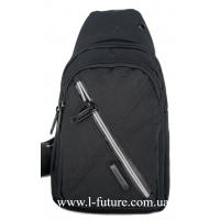 Мужская сумка через плечо Арт. 6293 Цвет Чёрный