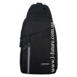 Мужская сумка через плечо Арт. 8283 Цвет Чёрный