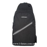 Мужская сумка через плечо Арт. 8284 Цвет Чёрный