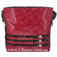 Женская сумка Лазерка Арт. 915-1 Цвет Красный