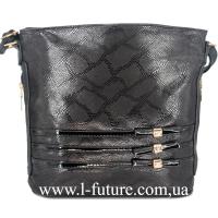Женская сумка Лазерка Арт. 915-1 Цвет Чёрный