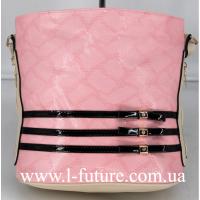 Женская сумка Лазерка Арт. 915-1 Цвет Розовый