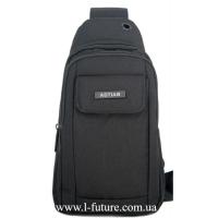 Мужская сумка через плечо Арт. 8276 Цвет Чёрный