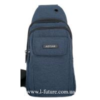 Мужская сумка через плечо Арт. 8276 Цвет Синий