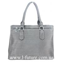 Женская Сумка Арт. F 8100 Цвет Серый