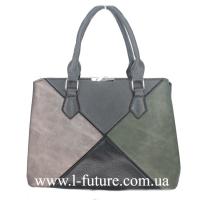 Женская Сумка Арт.F 8095 Цвет Серый