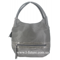 Женская Сумка Арт. F-8313 Цвет Серый