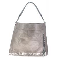 Женская Сумка Арт.F 8187 Цвет Серый