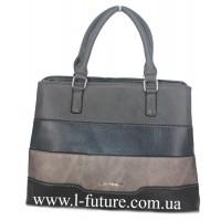 Женская Сумка Арт.F 8140 Цвет Серый