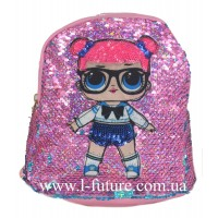 Детский Светящийся Рюкзак Арт. 4101 Цвет Розовый 1