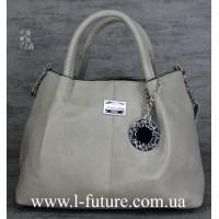 Женская Сумка Арт. F-8024 Цвет Серый