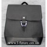 Женская Сумка-Рюкзак Арт. 924 Цвет Чёрный