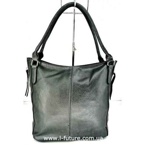 Женская Сумка Арт. L-6093 Цвет Серый