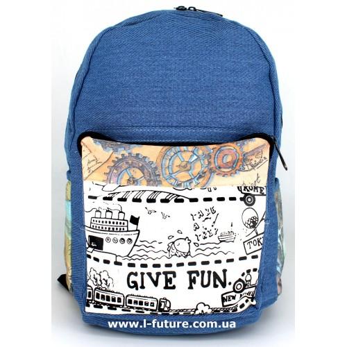 Женский рюкзак Арт. 85067  Цвет 7 ID-1034