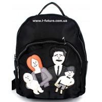 Женский рюкзак Арт. F-01  Цвет Чёрный