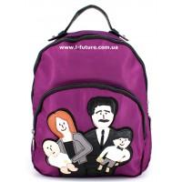 Женский рюкзак Арт. F-01  Цвет Фиолетовый