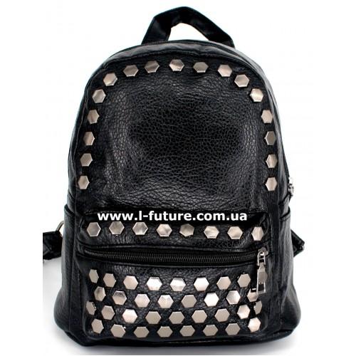 Женский рюкзак Арт. G-014 Цвет Чёрный ID-1062