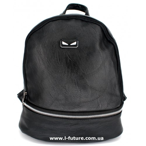 Женский рюкзак Арт. K-05  Цвет Чёрный
