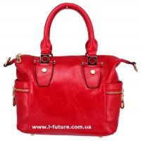 Женская сумка Арт. QJ1527-23557 Цвет Красный