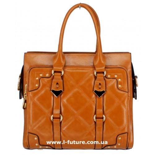 Женская сумка Арт. QJ1527-23559 Цвет Рыжий ID-1242