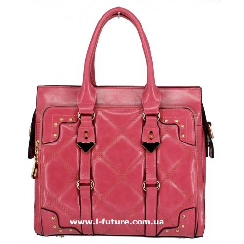 Женская сумка Арт. QJ1527-23559 Цвет Теракотовый ID-1243