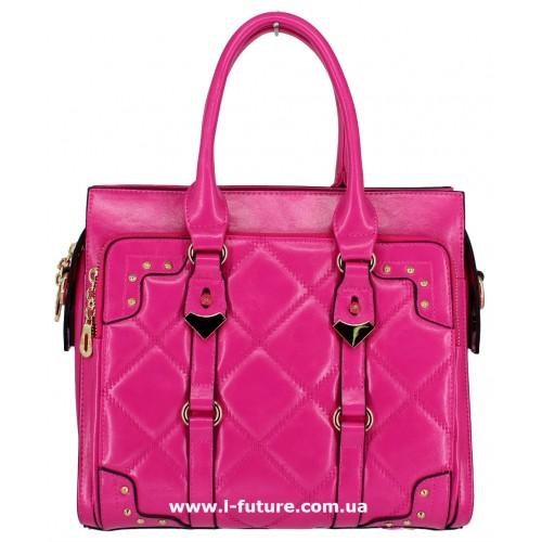 Женская сумка Арт. QJ1527-23559 Цвет Малиновый ID-1244