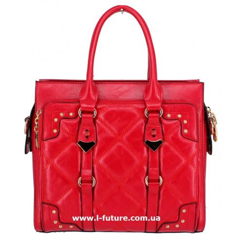Женская сумка Арт. QJ1527-23559 Цвет Красный ID-1246