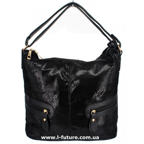 Женская сумка Лазерка Арт. 8382 Цвет Чёрный ID-1292