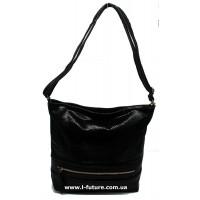 Женская сумка Лазерка Арт. 852 Цвет Чёрный