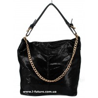 Женская сумка Лазерка Арт. 8378 Цвет Чёрный