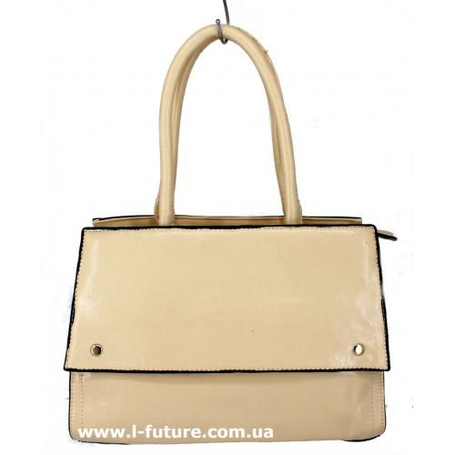Женская сумка Арт. 8005 Цвет Светлый Беж ID-1354
