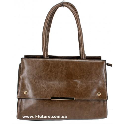 Женская сумка Арт. 8005 Цвет Коричневый ID-1355