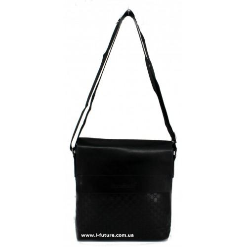 Мужская сумка Арт. 08 Цвет Чёрный ID-1375