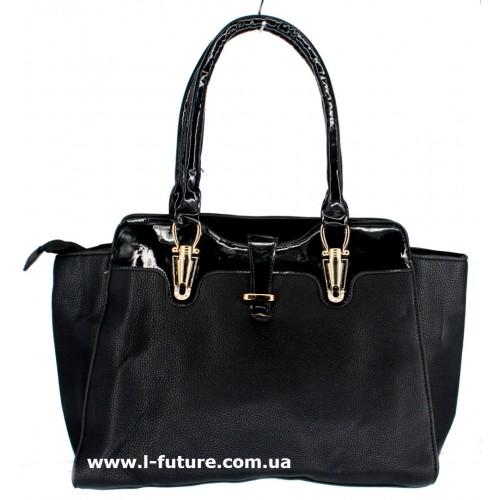 Женская сумка Арт. 1688 Цвет Чёрный ID-1447