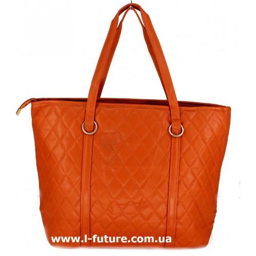Женская сумка Арт. М-100 Цвет Рыжий ID-1449