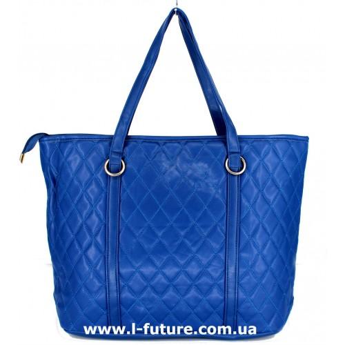 Женская сумка Арт. М-100 Цвет Синий ID-1450