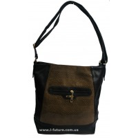 Женская сумка Лазерка арт.858.Цвет Коричневый