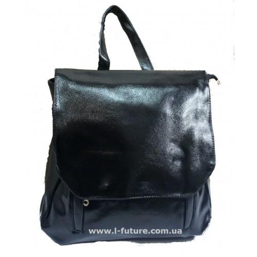 Женский рюкзак арт.6121 Цвет Чёрный ID-255