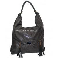 Женская сумка Арт. 99093 Цвет Тёмно серый